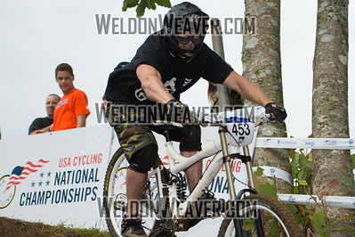2012 USACycling Gravity Nationals.  #453B David Morgan CANTON,MS CAT 3 Men 19-29 Photo by Weldon Weaver.