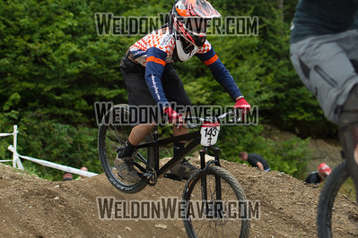 2012 USACycling Gravity Nationals.  #143R Andrew Summers LEESBURG,VA DS M JR 15-18 Cat 2 or 3 Photo by Weldon Weaver.