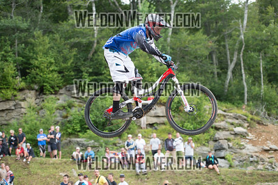 2012 USACycling Gravity Nationals.  #8R Kenneth (Chuck) Pitts MCDONOUGH,GA M Pro Qualifying Photo by Weldon Weaver.