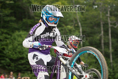 2012 USACycling Gravity Nationals.  #103R Katelyn Parhiala ARLINGTON,MA F DS Pro Qualifying Photo by Weldon Weaver.