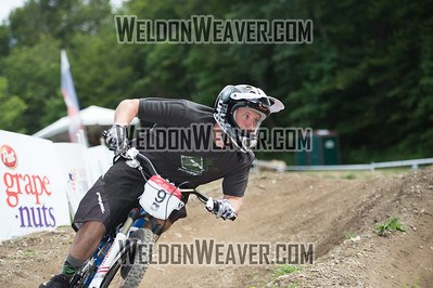 2012 USACycling Gravity Nationals.  #9R David Thacker LEBURN,KY M Pro Qualifying Photo by Weldon Weaver.