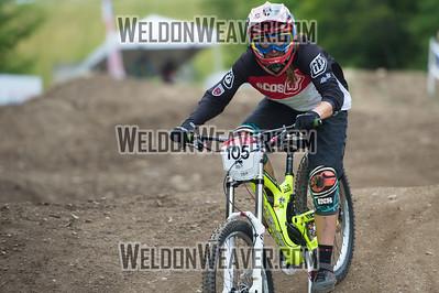 2012 USACycling Gravity Nationals.  #105R Jacqueline Harmony Sedona,AZ F DS Pro Qualifying Photo by Weldon Weaver.