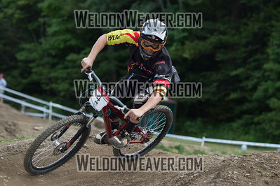 2012 USACycling Gravity Nationals.  #4R Ben Calhoun PITTSBORO,NC M Pro Qualifying Photo by Weldon Weaver.