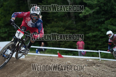 2012 USACycling Gravity Nationals.  #6R Cody Kelley RIVERTON,UT M Pro Qualifying Photo by Weldon Weaver.