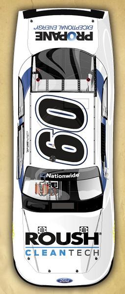 Carl Edwards' #60 Nationwide Car (Las Vegas)