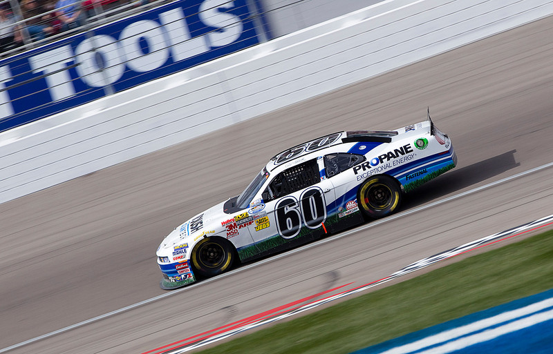 LAS VEGAS, NV - MAR Sa 05, 2011:  Carl Edwards (60) comes down the front stretch during the Sam's Town 300 race at the Las Vegas Motor Speedway in Las Vegas, NV.