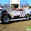 Mike Balcaen prepping his NLRA Late Model race car for a Test and Tune sesion at The World Famous Legendary Bullring Dirt Track River Cities Speedway