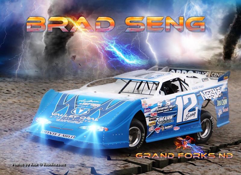 Brad Seng Hero Driver Card