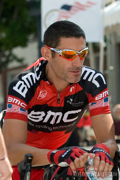 George Hincapie. US Pro Cycling Championship Greenville, SC, May 30, 2011.