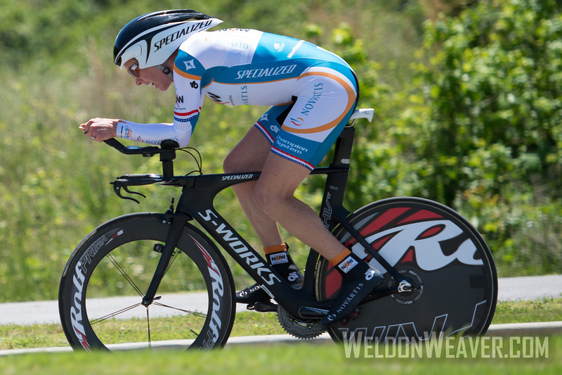 Alison Powers.  2013 US Pros Womens Time Trial. Wave 3.  Photo by Weldon Weaver.