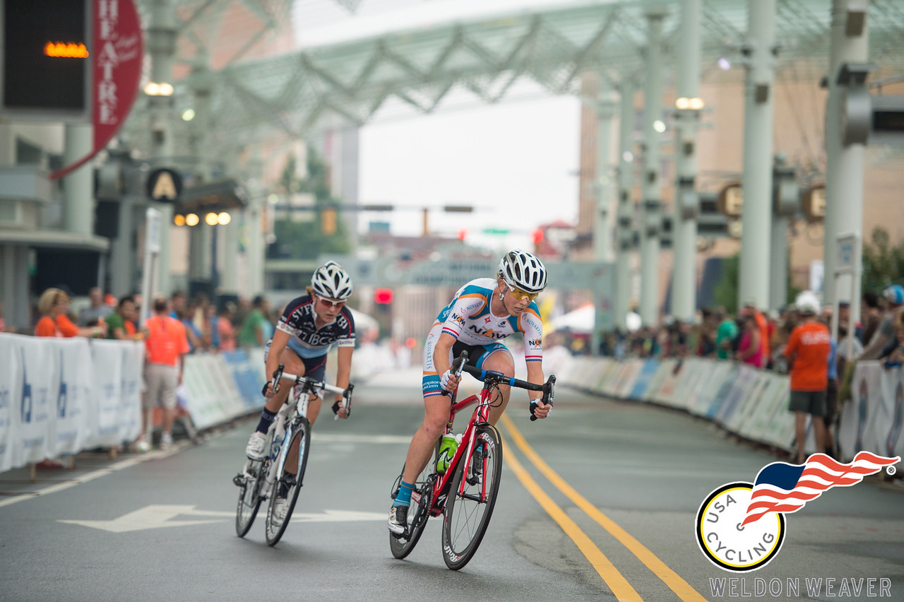 Alison Powers . 2013 US Pro Crit Nats.  High Point, NC .Photo by Weldon Weaver.