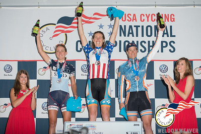 Alison Powers celebrating the win.  2013 US Pro Crit Nats.  High Point, NC .Photo by Weldon Weaver.