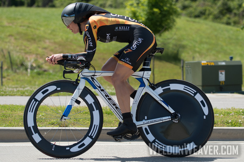 Lauren Hall. 2013 US Pros Womens Time Trial. Wave 1.  Photo by Weldon Weaver.
