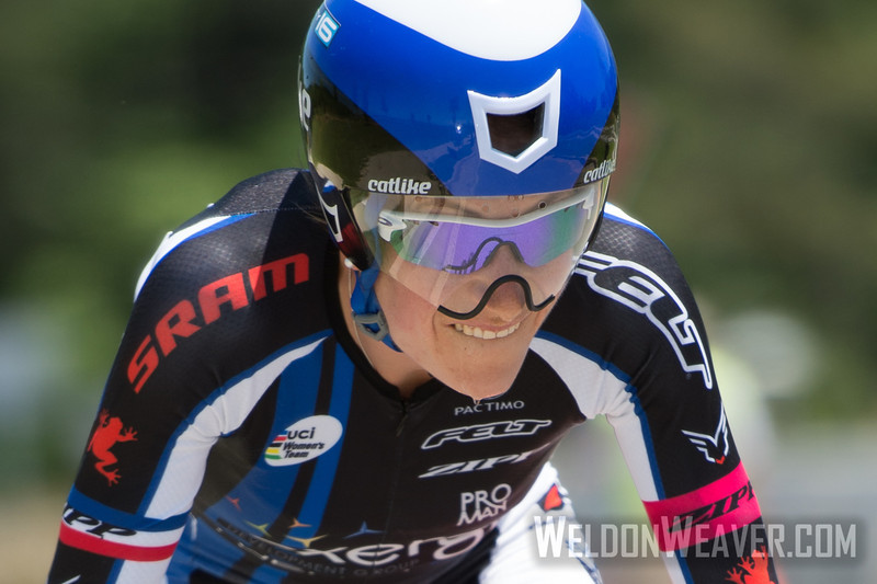 Mara Abbott.  2013 US Pros Womens Time Trial. Wave 2.  Photo by Weldon Weaver.