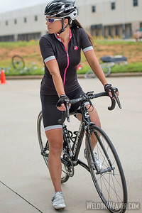 Marie Schmader.  2013 NC State Crit Championships.  Kernersville, NC.  Photo by Weldon Weaver.