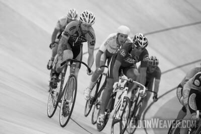 Giordana Velodrome racing.  August 3rd, 2012.  Rock Hill, SC.