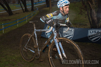 Adam Myerson Men 40-49 Non Champ Tuesday.  Photo by Weldon Weaver.