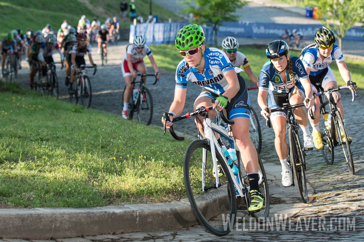 Allison Arensman. 2014 Collegiate Nationals.  Richmond, Virginia.  Photo by Weldon Weaver.
