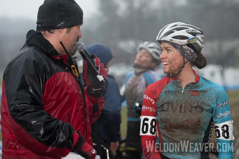 Allison Arensman 3rd place.  North Carolina Grand Prix Day 1.  Hendersonville, NC.  Photo by Weldon Weaver.