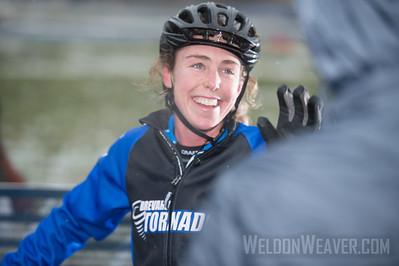 Short Track Division 2 Women.  USA Cycling Collegiate Mountain Bike National Championships Oct. 25 - Beech Mountain, NC.  Photo by Weldon Weaver.