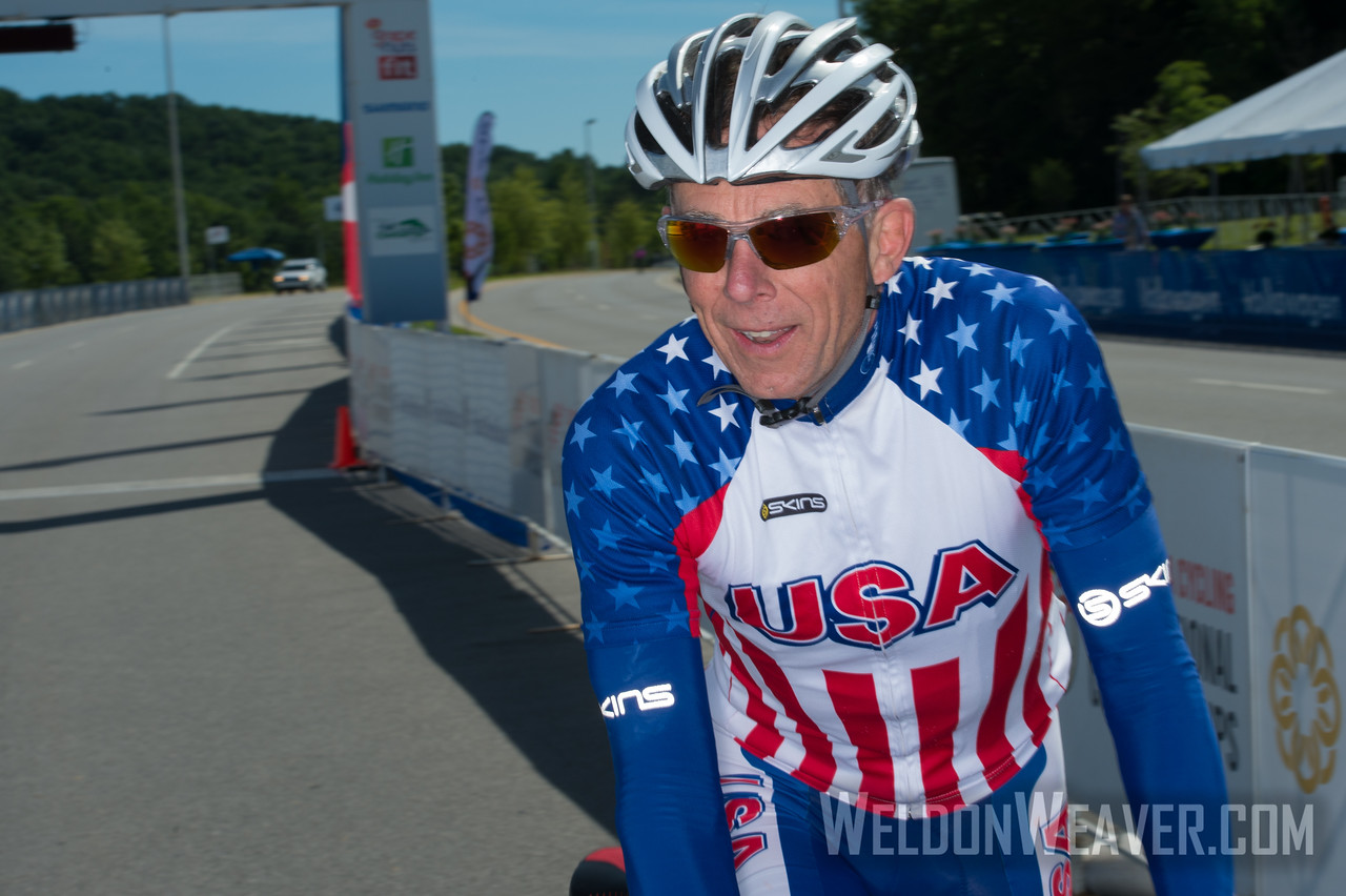 Steve Johnson President, USA Cycling.