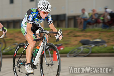 Sara Tussey.  2013 NC State Crit Championships.  Kernersville, NC.  Photo by Weldon Weaver.