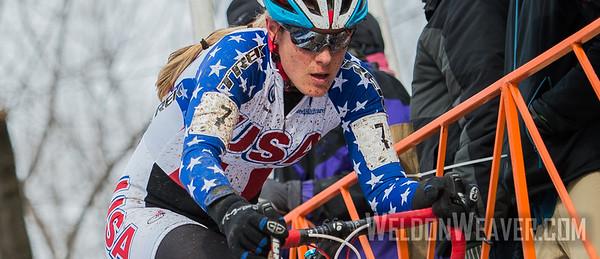 Katherine COMPTON.  2013 CX Worlds. Louisville, KY USA. Photo by Weldon Weaver