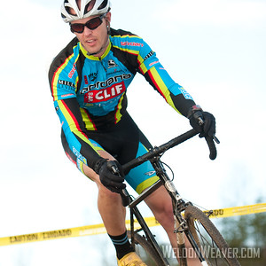 Brett Rumble. North Carolina Cyclo-cross Series Race#8.  Statesville, NC Dec 4, 2011. Photo by Weldon Weaver