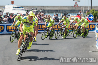 Danilo Di Luca.  2013 Giro d'Italia.  Stage #2 Ischia, Italy