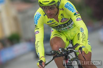 Danilo Di Luca.   2013 Giro d'Italia.  Stage #8 Saltara, Italy.