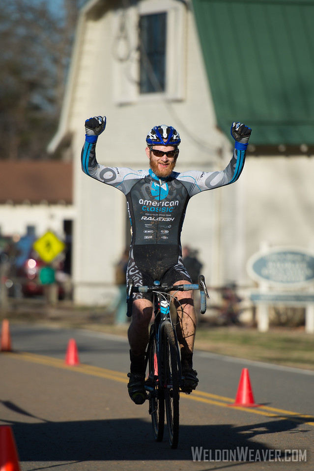 Robert Marion.  NCCX#15 Greensboro.  Jan 20, 2013.  Photo by Weldon Weaver.