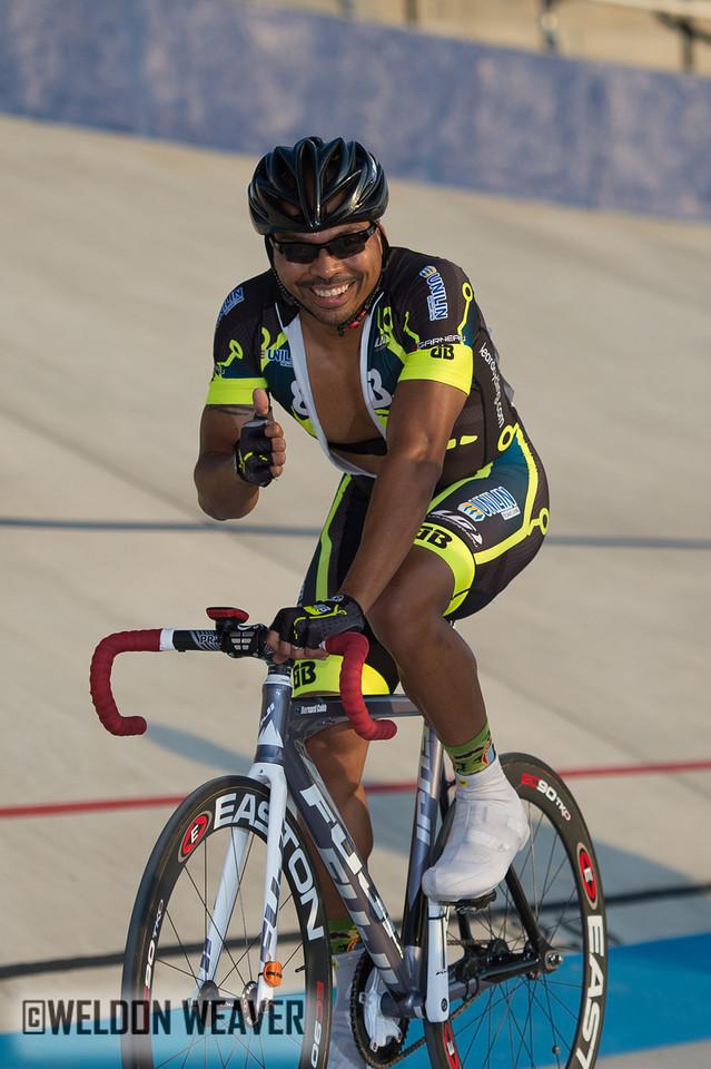 2012 South Carolina State Champion Masters 35+:  Bernard Cobb (Unilin-pb Beard Bikes).  Photo by Weldon Weaver.