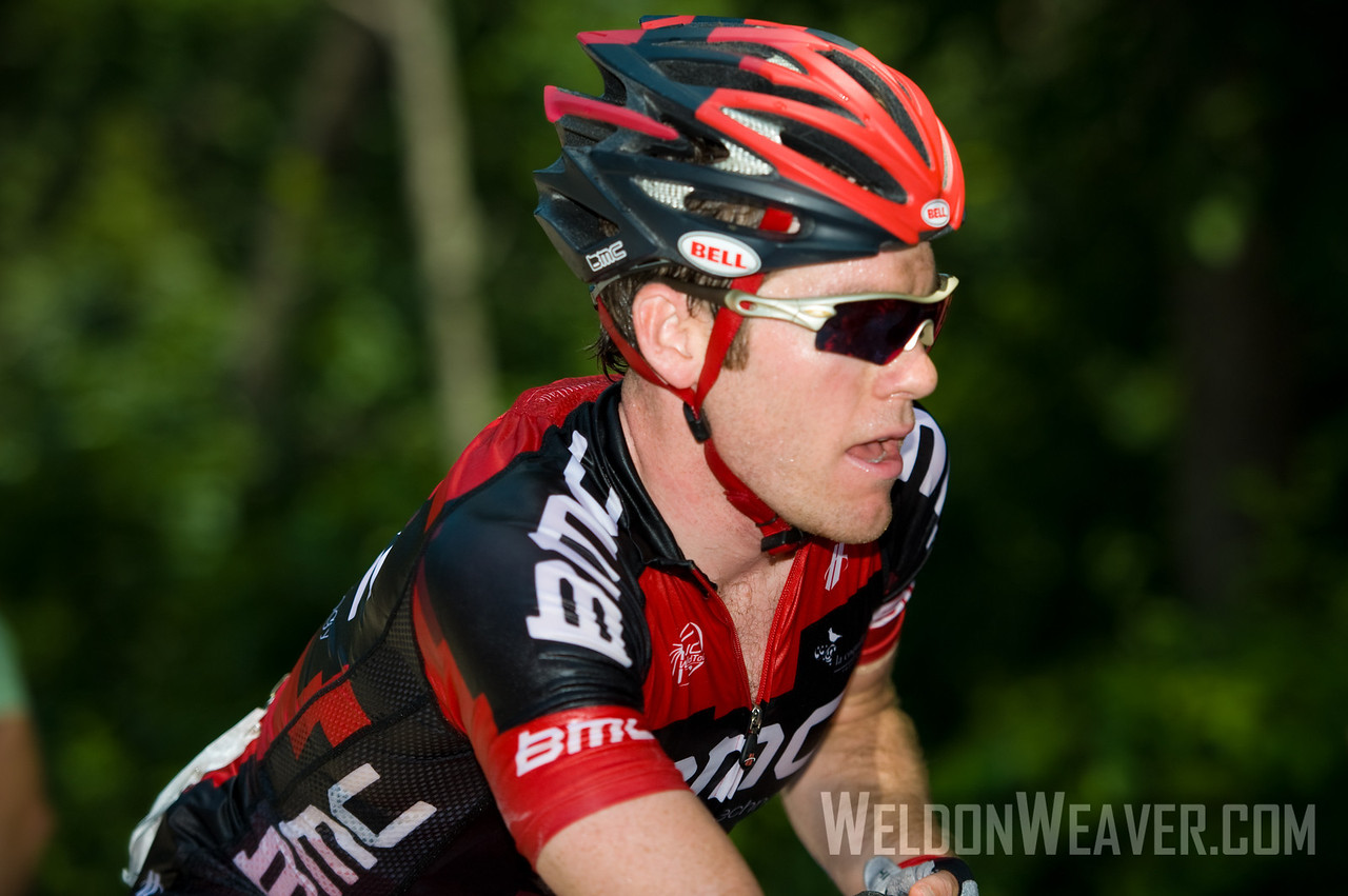 US Pro Cycling Championship Greenville, SC,May  2011. Brent Bookwalter.  Photo by Weldon Weaver.