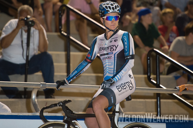 Photo by Weldon Weaver.  Elimination race. 2012 USA Cycling Elite Omnium Track National  Championships. August 17, 2012. Rock Hill, S.C.
