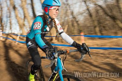 Winner Womens 45-49.2017CXNats. Photo by Weldon Weaver.
