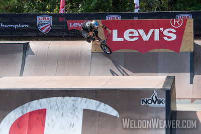Chelsea Wolfe, third place. 2019 BMX Freestyle UCI C1. Cary, NC. USA. Photo by Weldon Weaver.