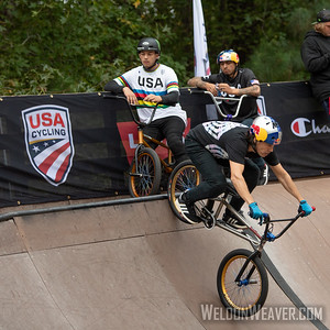 Daniel Dhers, third place. 2019 BMX Freestyle Continental Championships.  Cary, NC. USA. Photo by Weldon Weaver.