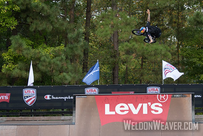 Daniel Sandoval, National Champion. 2019 USA Cycling Freestyle BMX  Nationals. Cary, NC. Photo by Weldon Weaver.