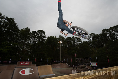 Daniel Sandoval, first place. 2019 BMX Freestyle Continental Championships.  Cary, NC. USA. Photo by Weldon Weaver.