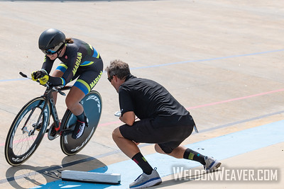 BEATTY, Alijah. 2019 USA Cycling Collegiate Track Nationals. Rock Hill, SC.  Photo by Weldon Weaver.