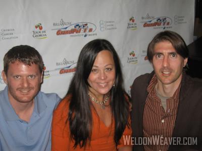 Floyd Landis, Mari Holden, Weldon Weaver 2007