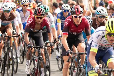 Geraint Thomas (GBR). 2019 Tour de France. Stage 1 Brussels. Photo by Weldon Weaver.