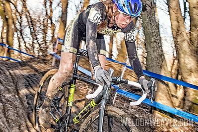 Hannah FINCHAMP. Winner Collegiate Women Varsity. 2017CXNats. Photo by Weldon Weaver,