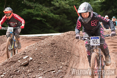 #105 Jorden Bell DS F 11+ Champion. 2018 MTB Nats.  Photo By Weldon Weaver.