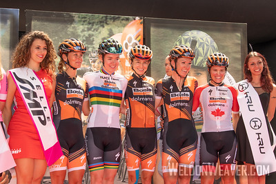 2019 Giro Rosa.  Stage 10. Photo by Weldon Weaver.