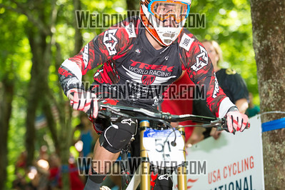 2012 USACycling Gravity Nationals.  51 3 Mulally Neko Trek World Racing Pro M. Photo by Weldon Weaver