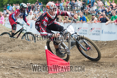 2012 USACycling Gravity Nationals.  #1  Neko Mulally Reading, PA. DS Pro M Final Photo by Weldon Weaver.