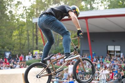 Nick Bruce. 2019 BMX Freestyle UCI C1. Cary, NC. USA. Photo by Weldon Weaver.