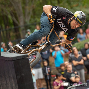 Nick Bruce. 2019 BMX Freestyle Continental Championships.  Cary, NC. USA. Photo by Weldon Weaver.