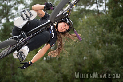 Perris Benegas, second place. 2019 BMX Freestyle Continental Championships.  Cary, NC. USA. Photo by Weldon Weaver.